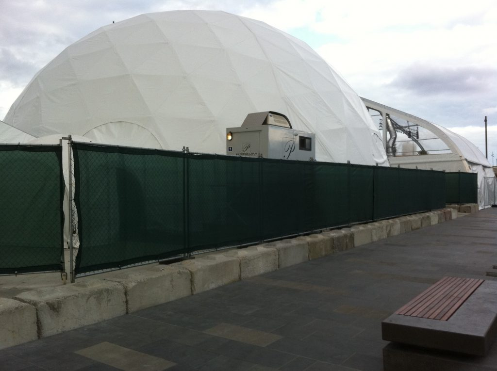 Rapid-rent-fence-Dome