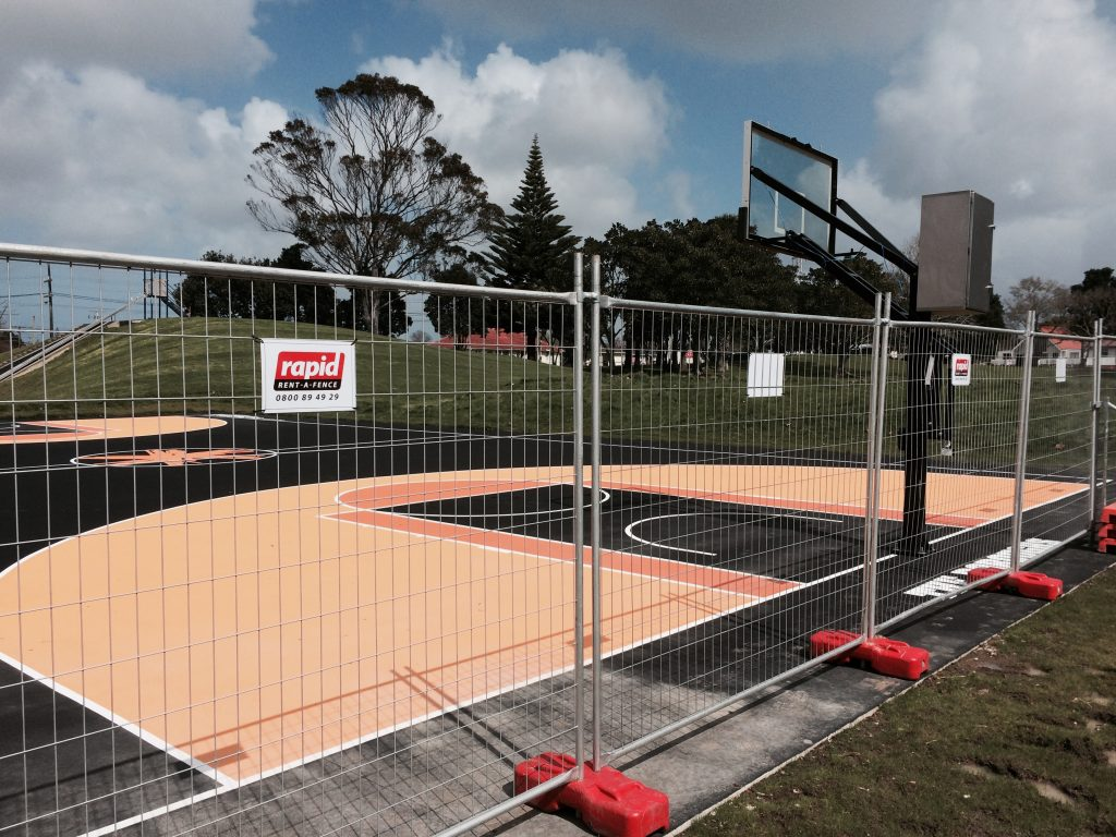 Rapid-rent-fence-Otara-Basketball-Courts